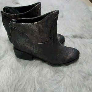 Not rated shimmer ankle boots